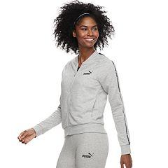 Women's PUMA Graphic Tape Full-Zip Jacket