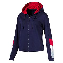 Women's PUMA Ace Sweat Hooded Zip-Up Jacket