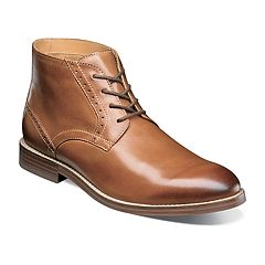 Nunn Bush Middleton Men's Plain Toe Dress Chukka Boots