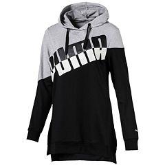 Women's PUMA Ace Color Block Tunic Hoodie