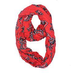 Women's Texas Tech Red Raiders Logo infinity scarf