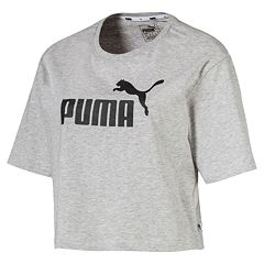 Women's PUMA Cropped Graphic Tee