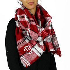 Women's Indiana Hoosiers Tailgate Blanket Scarf