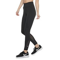 d053ac1427031 Women's Nike One Training Mid-Rise Ankle Leggings. Black White Outdoor  Green White ...