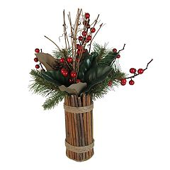 SONOMA Goods for Life™ Artificial Pine & Berry Table Decor