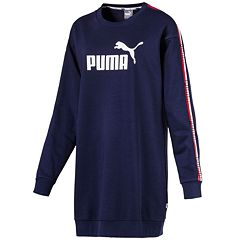 Women's PUMA Graphic Tape Long Sleeve Dress