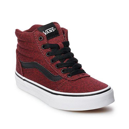 44f9a9ba9b44 Vans Ward Hi Boys Skate Shoes
