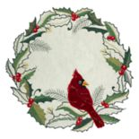 St. Nicholas Square® Cardinal Holly Cutout Placemat