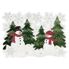 St. Nicholas Square® Snowman Scene Cutout Placemat