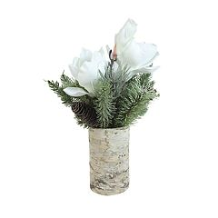 SONOMA Goods for Life™ Artificial Magnolia & Pine Table Decor