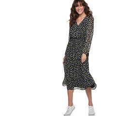 Women's POPSUGAR Smocked Midi Dress