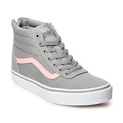 07ce9d3a0c Vans Ward Hi Zip Girls Skate Shoes