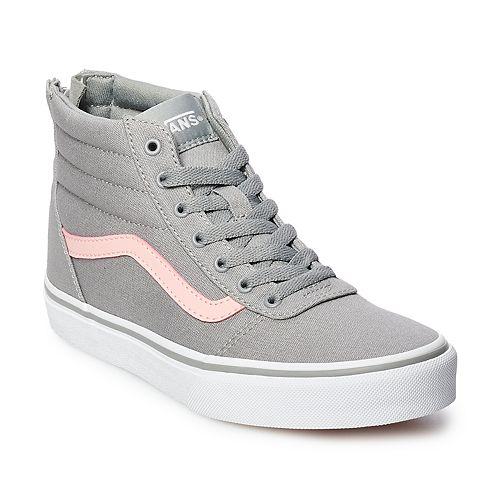 c406d9475b6 Vans Ward Hi Zip Girls Skate Shoes