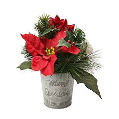 SONOMA Goods for Life™ Artificial Poinsettia Christmas Table Decor