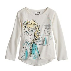 Disney's Frozen Elsa Glittery Graphic Tee by  Disney/Jumping Beans®
