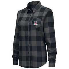 Women's Arizona Wildcats Plaid Flannel Shirt