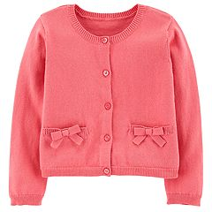 Baby Girl Carter's Bow Cardigan Sweater