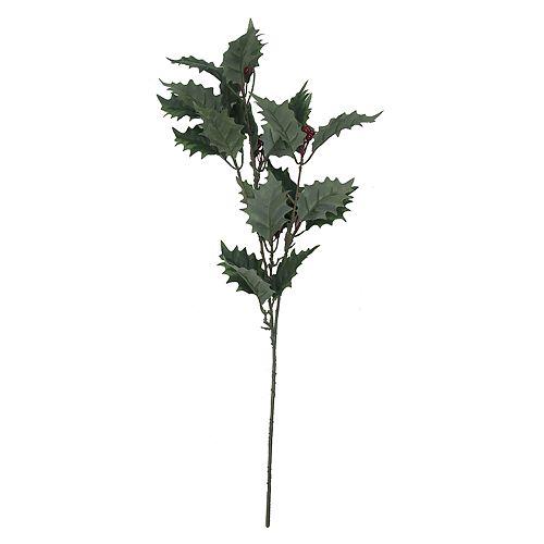 SONOMA Goods for Life™ Artificial Holly Leaf Stem Filler Decor