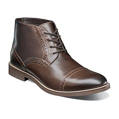 Nunn Bush Middleton Men's Cap Toe Dress Chukka Boot