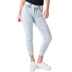 Juniors' DENIZEN from Levi's Zipper High-Waisted Ankle Jeggings