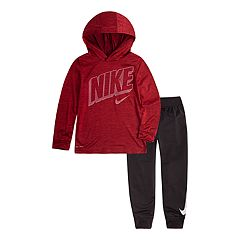 Toddler Boys Nike Logo Hoodie & Pants Set