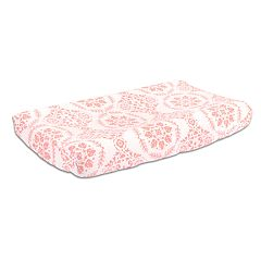 The Peanut Shell Pretty Patch Medallion Changing Pad Cover