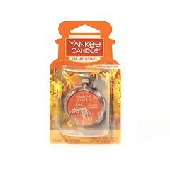 Yankee Candle Car Jar Spiced Pumpkin Air Freshener