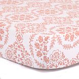 The Peanut Shell Medallion Fitted Crib Sheet