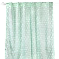 The Peanut Shell Dot 2-pc. Window Panel Set