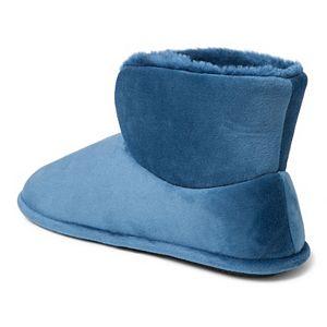 Women's Dearfoams Velour Bootie Slippers