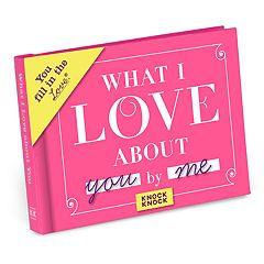 What I Love About You Fill-In-The-Blank Gift Book