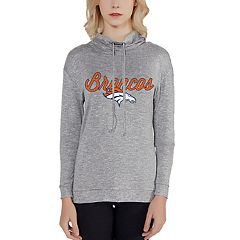Women's Denver Broncos Cowlneck Top