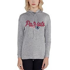 Women's New England Patriots Cowlneck Top