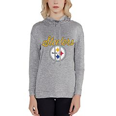 Women's Pittsburgh Steelers Cowlneck Top