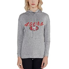 Women's San Francisco 49ers Cowlneck Top