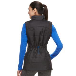 Women's FILA SPORT® Stretch Side Panel Puffer Vest