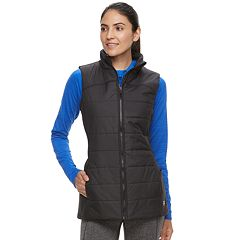 Women's FILA SPORT® Stretch Side Panel Puffer Vest
