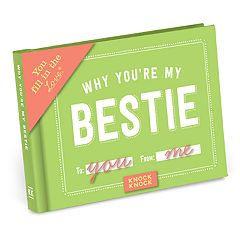 Why You're My Bestie Fill-In-The-Blank Gift Book