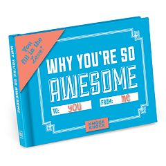 Why You're So Awesome Fill-In-The-Blank Gift Book