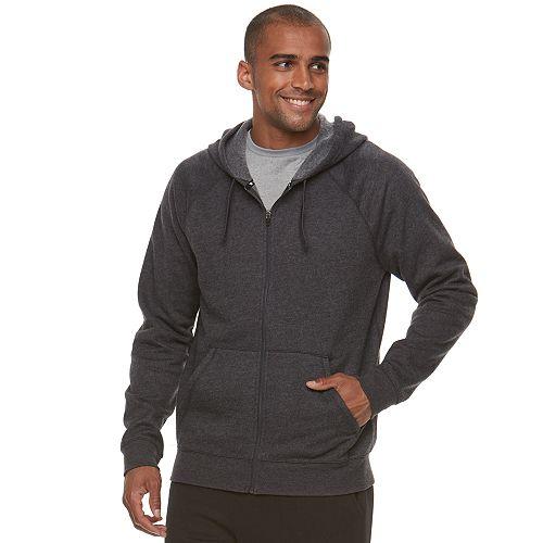 e3bf5c6cc1dd Men s Tek Gear® Ultra Soft Fleece Basic Full-Zip Hoodie
