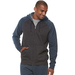 Men's Tek Gear® Ultra Soft Fleece Basic Full-Zip Hoodie