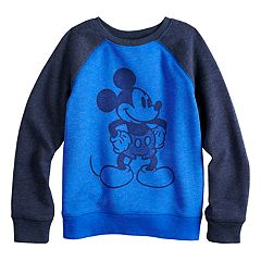 Disney's Mickey Mouse Boys 4-12 Raglan Softest Fleece Sweatshirt by Jumping Beans®