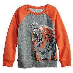 Boys 4-12 Jumping Beans® Raglan Softest Fleece Sweatshirt