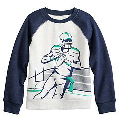Boys 4-12 Jumping Beans® Raglan Softest Fleece Sweatshirt