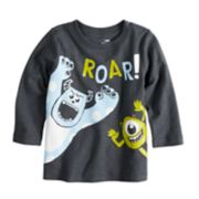 "Disney/Pixar Monsters Inc. Baby Boy ""Roar"" Long Sleeve Slubbed Tee by Jumping Beans®"