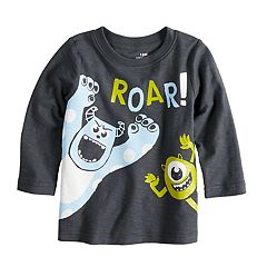 Disney/Pixar Monsters Inc. Baby Boy 'Roar' Long Sleeve Slubbed Tee by Jumping Beans®