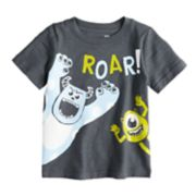 "Disney/Pixar Monsters Inc. Baby Boy ""Roar"" Slubbed Tee by Jumping Beans®"
