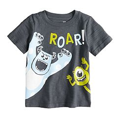 Disney/Pixar Monsters Inc. Baby Boy 'Roar' Slubbed Tee by Jumping Beans®