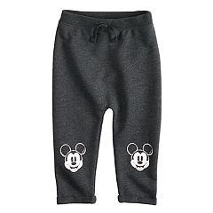 Disney's Mickey Mouse Baby Boy Cuff Knit Pants by Jumping Beans®