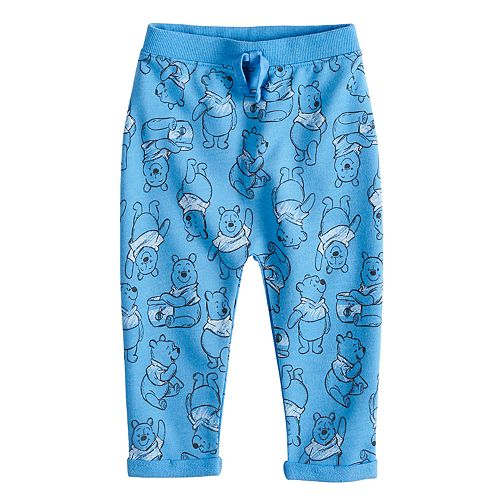 Disney's Winnie the Pooh Baby Boy Cuff Knit Pants by Jumping Beans®